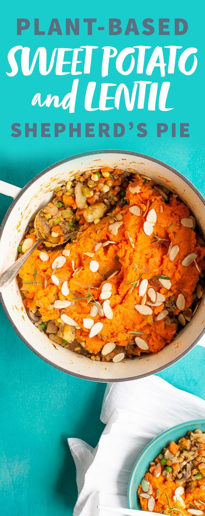 Sweet Potato and Lentil Shepherd's Pie