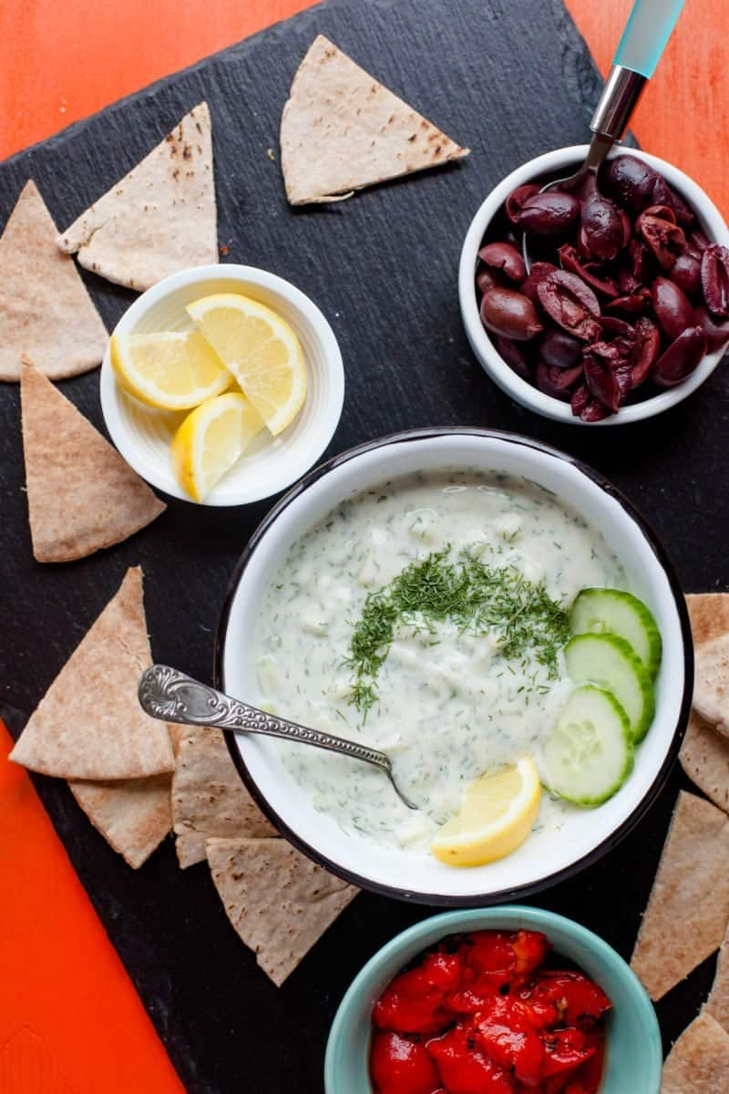 Ten Minute Tzatziki Sauce