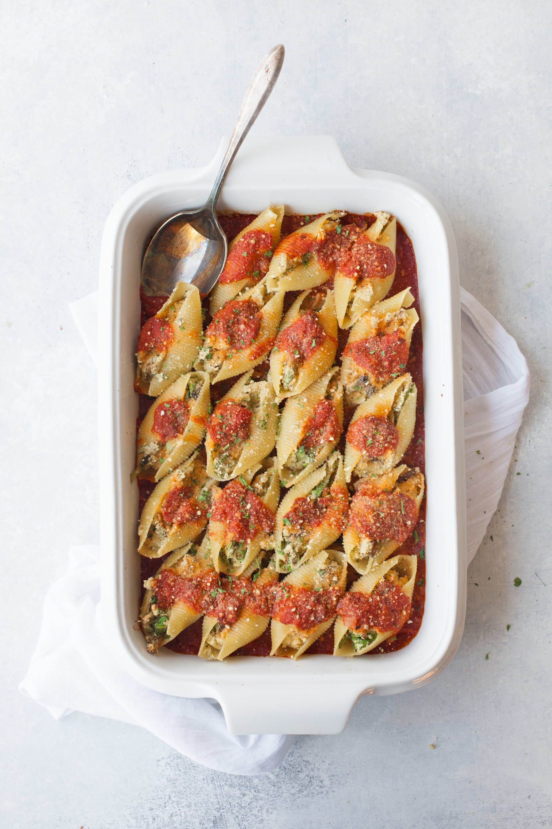 Vegan Stuffed Shells