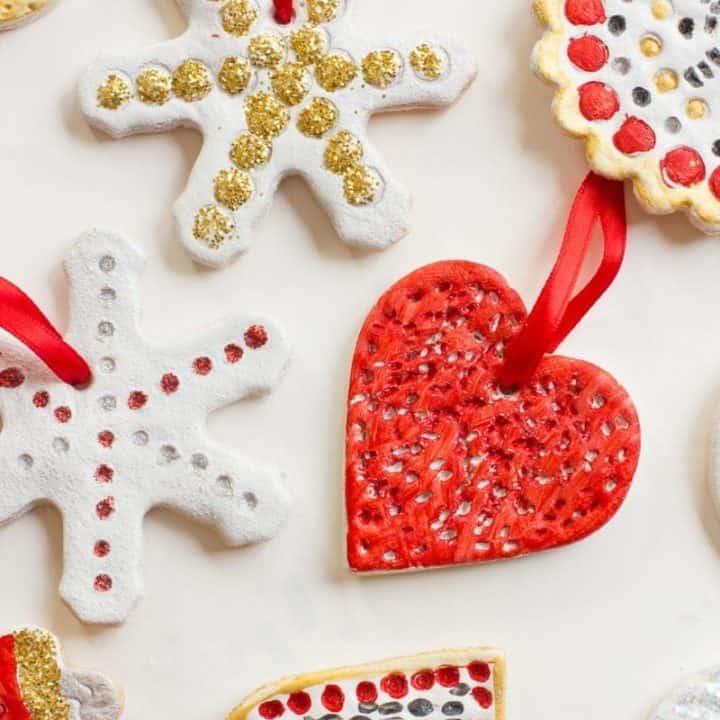 Salt Dough Recipe for Ornaments, Handprints, and Crafting