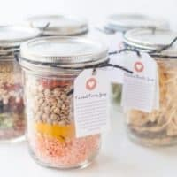 Homemade Soup Mixes in a Jar