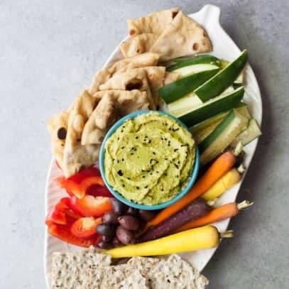 Split Pea Hummus