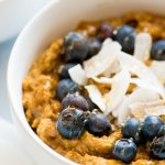 Pumpkin Spice Coconut Breakfast Porridge