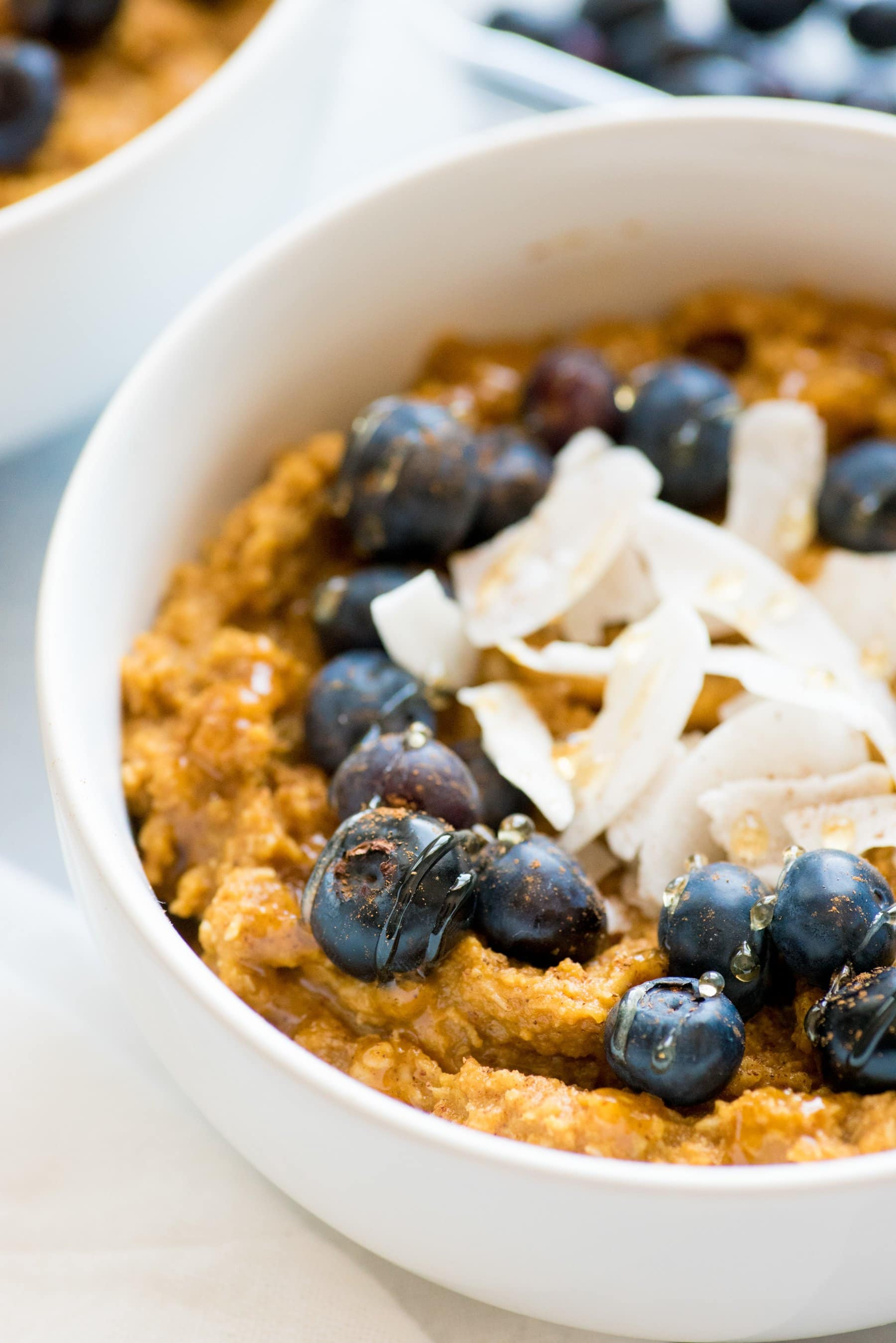 Pumpkin Coconut Breakfast Porridge