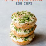 Sweet Potato Chive Egg Cups