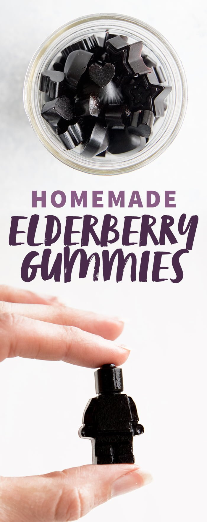 Homemade Elderberry Gummies
