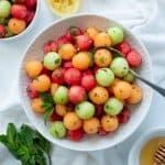 Honey-Mint Melon Salad