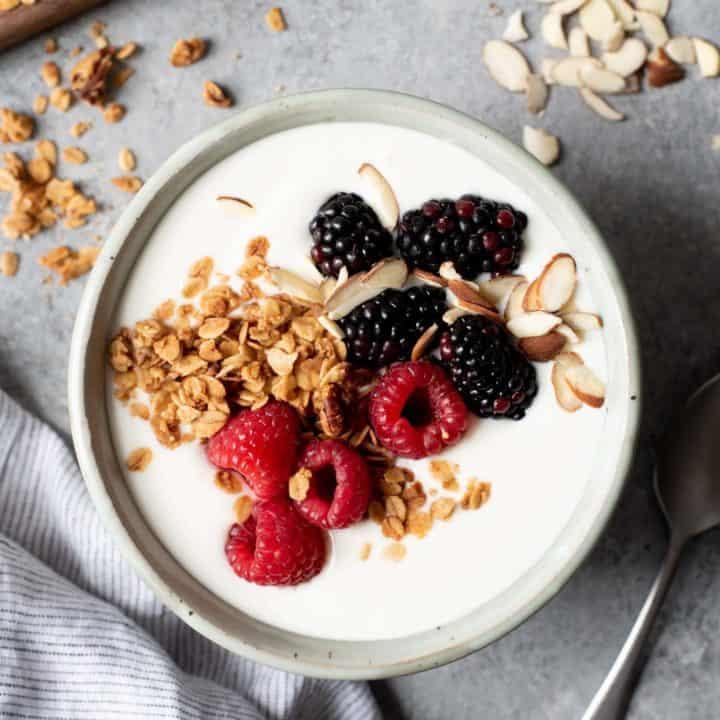 Homemade 24-Hour Yogurt