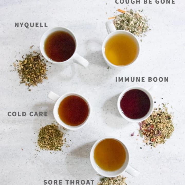 5 Cold-Busting Herbal Tea Blends