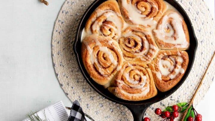 Make Ahead Vegan Cinnamon Rolls