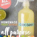 Homemade Citrus All-Purpose Cleaner