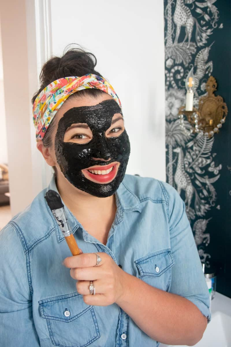 Charcoal Face Wholefully With Mask Activated Diy Peel-off
