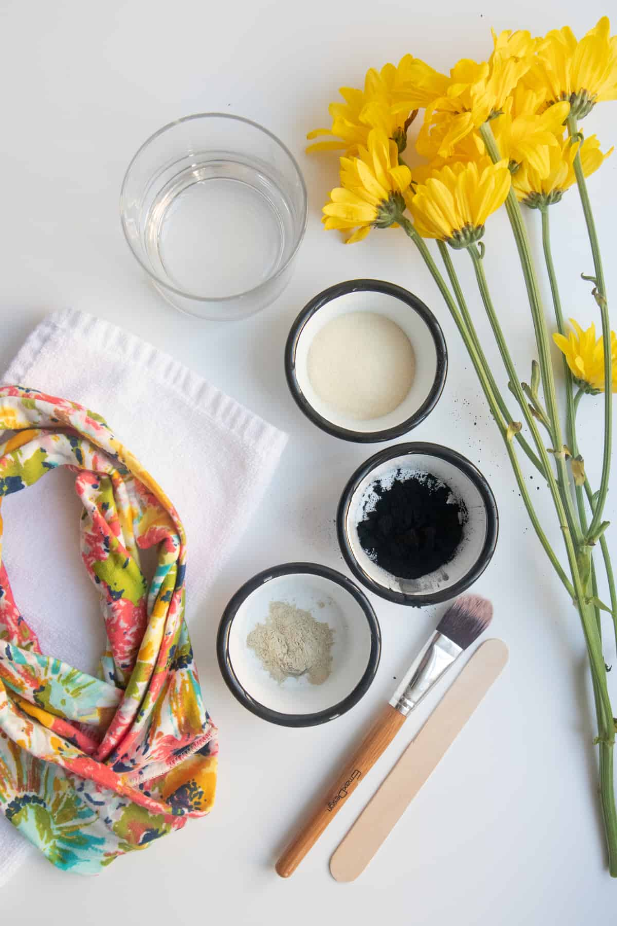 DIY Peel-Off Face Mask with Activated