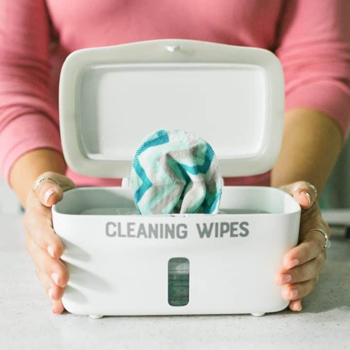Reusable DIY Disinfecting Wipes