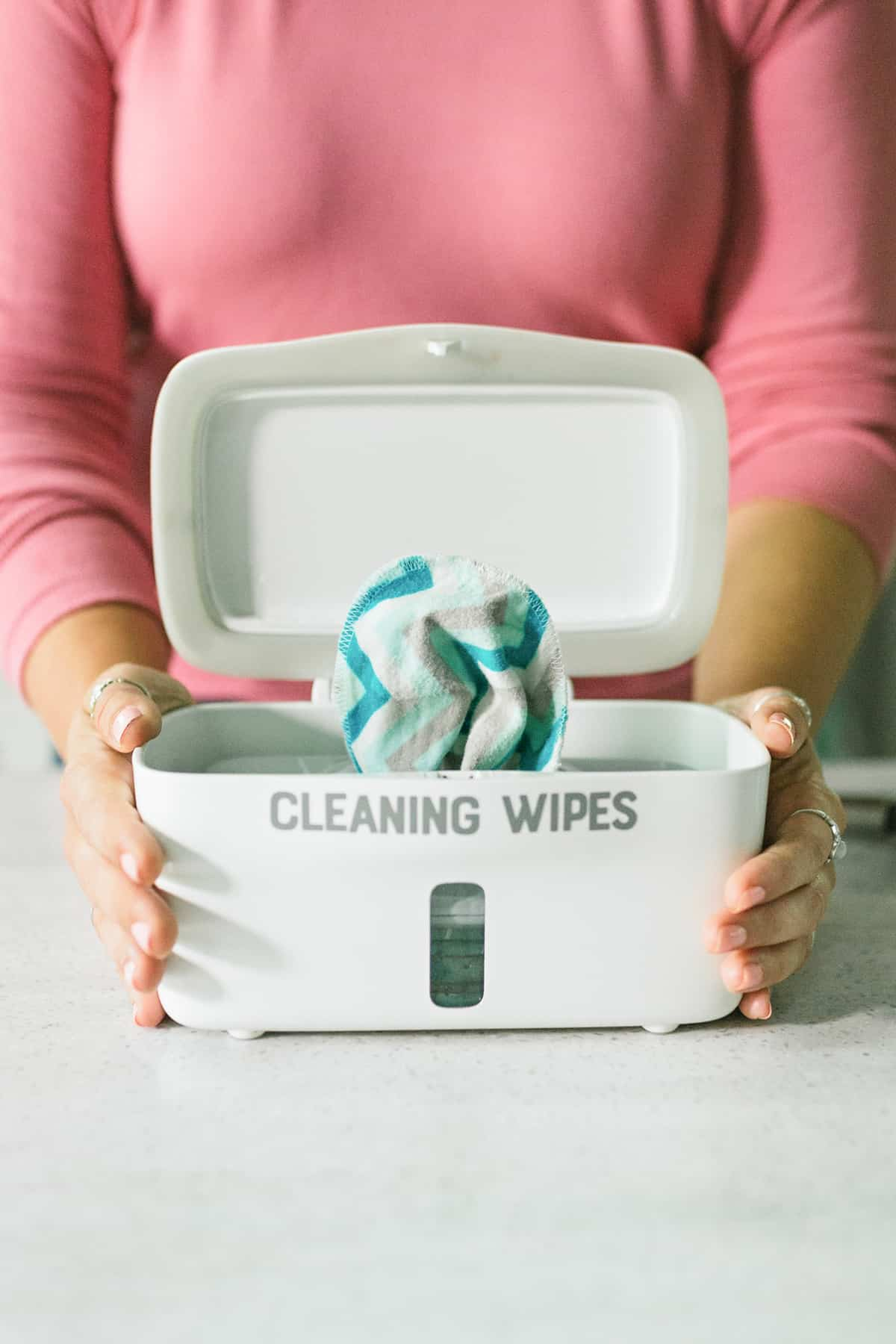 DIY Disinfecting Wipes - Reusable All