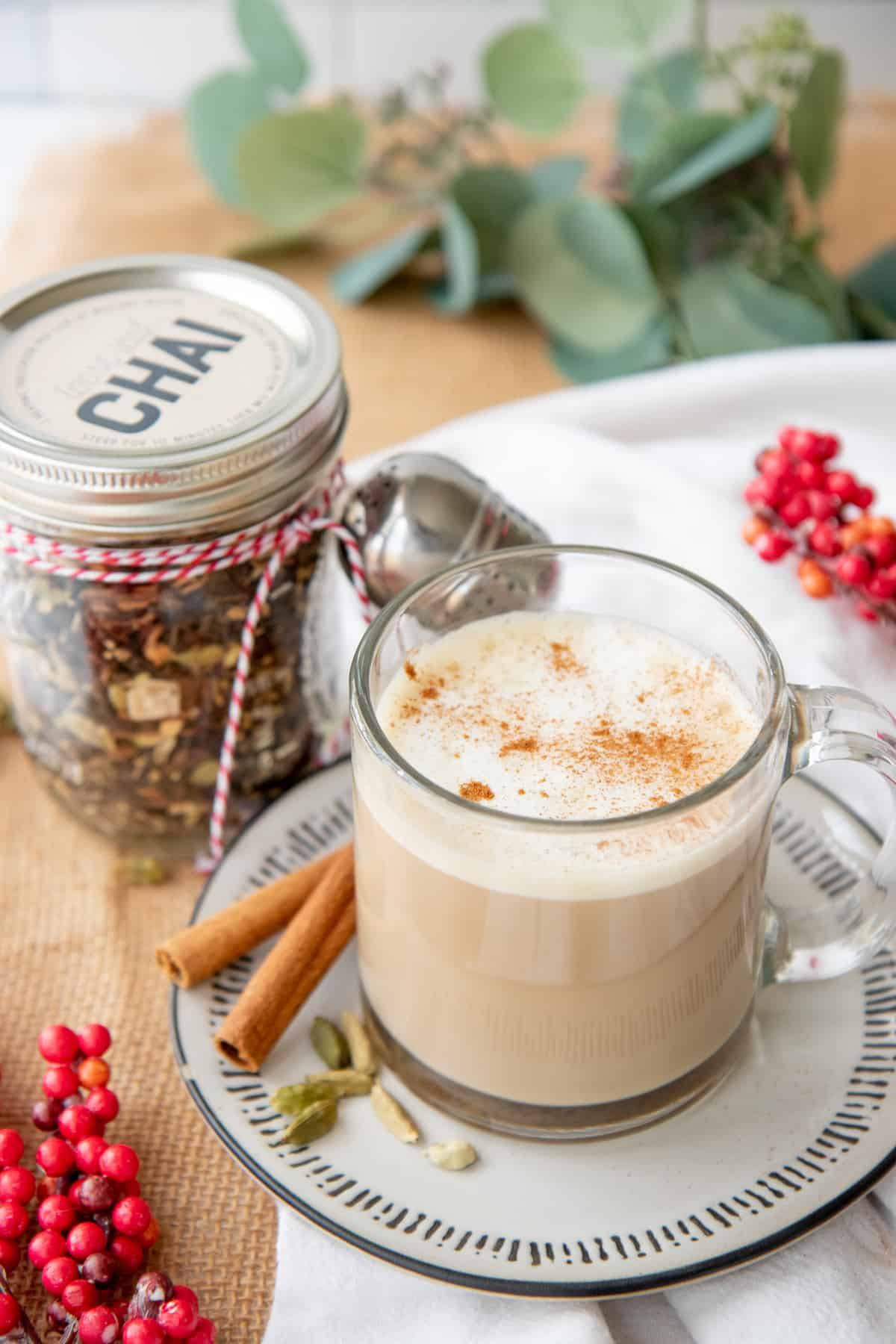 Homemade Chai Tea Recipe And Easy Diy Tea Gift Set Wholefully
