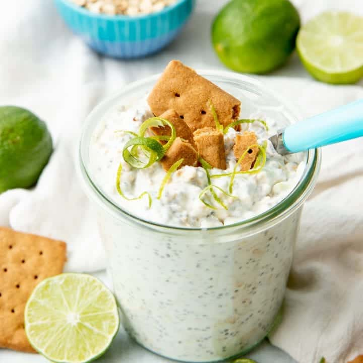 Key Lime Pie Overnight Oats