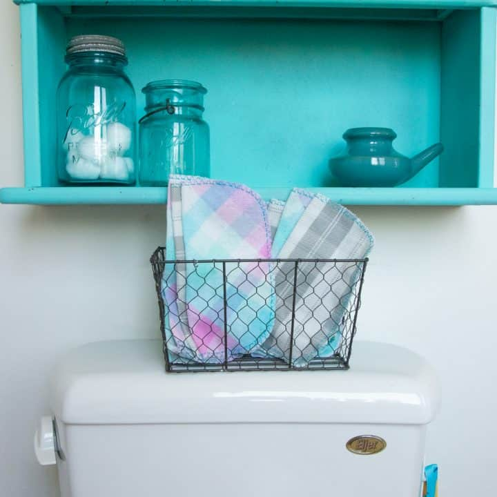 How to Make Reusable Toilet Paper (AKA: Family Cloth)