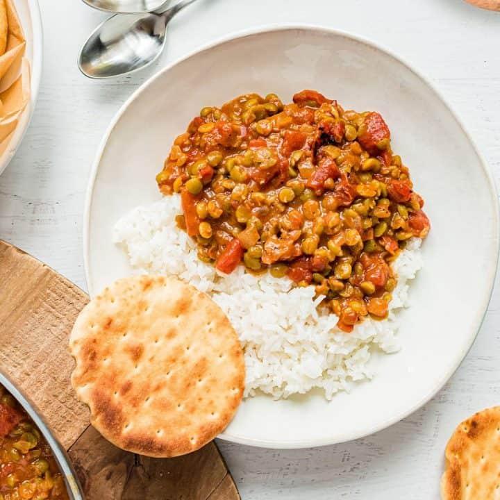 Easy Vegan Split Pea Curry Recipe